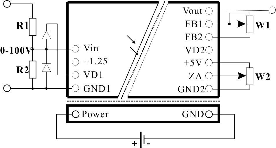 jsd oi-ms拟量mv隔离放大器的应用