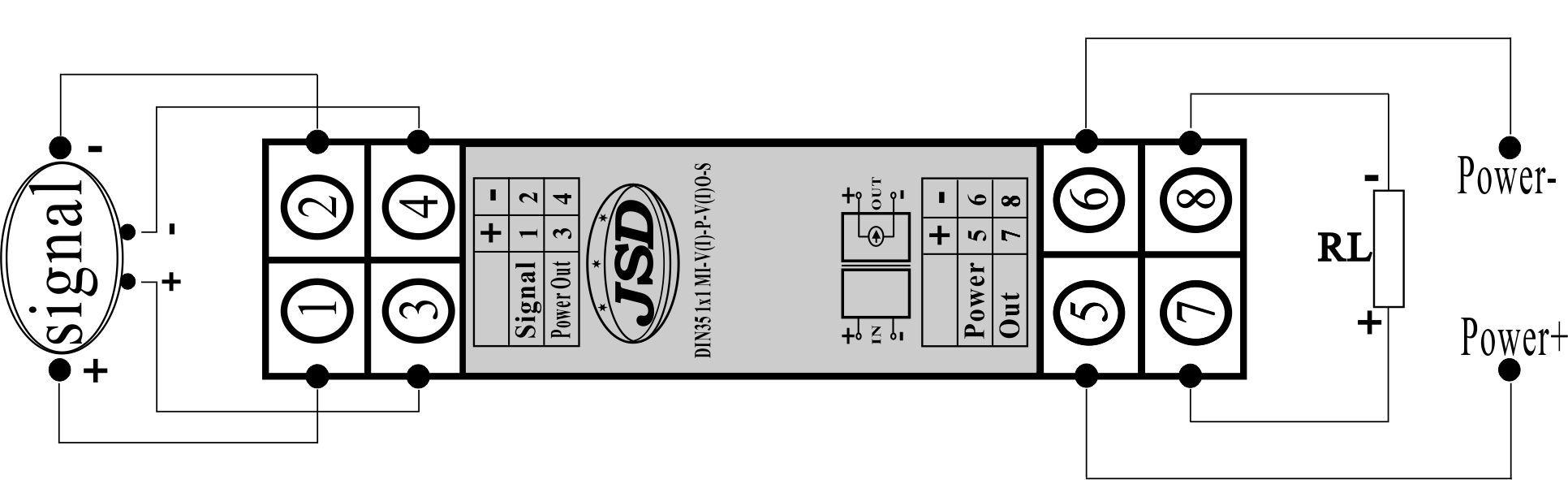 但隔离配电器给外围电路及传感器提供一组工作电源