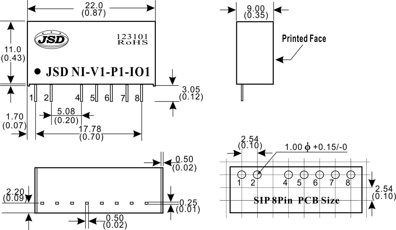 模拟量正向信号非隔离放大器模块ic