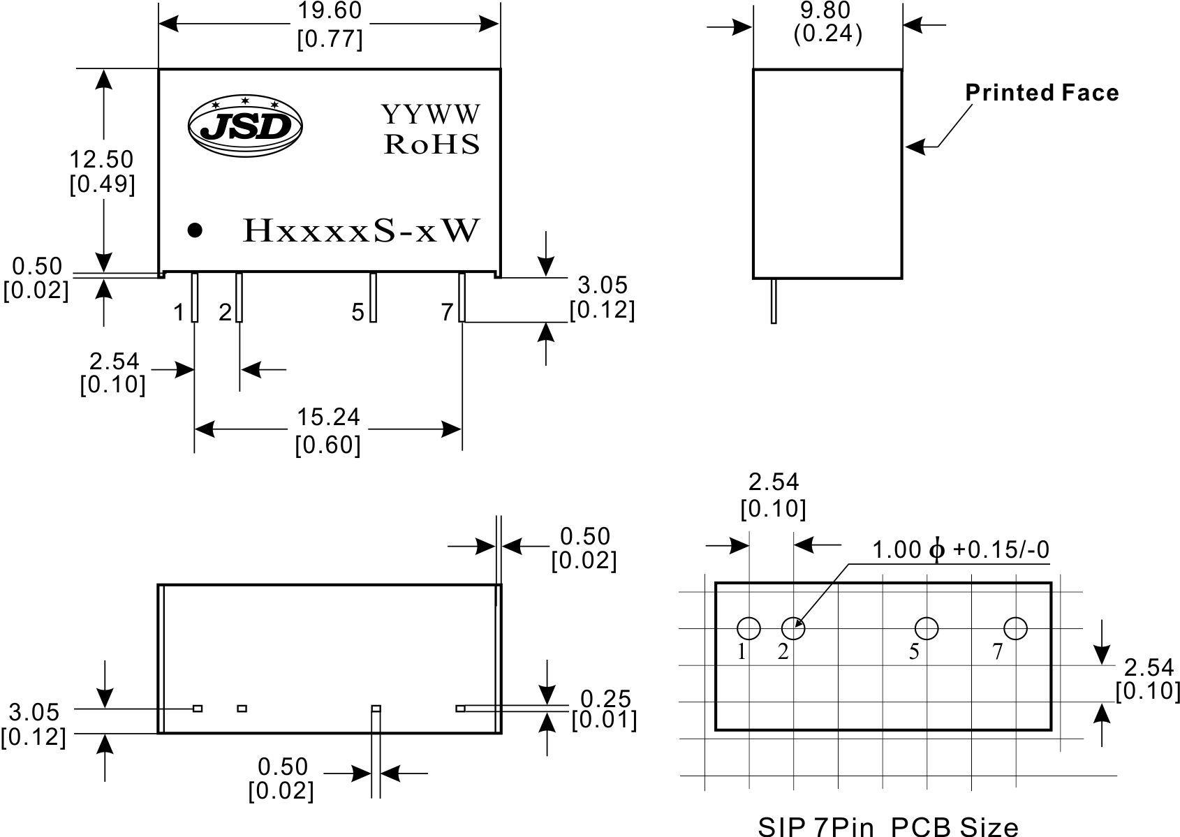 捷晟达科技推出正电压单输出高隔离dc-dc电源模块h系列